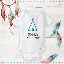 Personalized Boho Baby Clothes - newborn - Baby Girl Infant Onesies - Gift Ideas