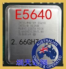 Intel Xeon E5640 LGA 1366 12Mb Cache 2.66GHz 5.86 GT/s QPI Processor-Mfg Direct