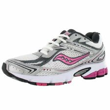 Saucony Grid Ignition 2 Wide Athletic Womens Running Shoes White/silver SZ 5