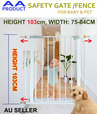 103CM High Adjustable Width Baby Pet Child Safety Security Gate Stair Barrier