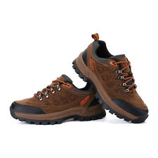 Fashion Hiking Trail Shoes Mens Round Toe Lace Up Sport Quakeproof Shoes