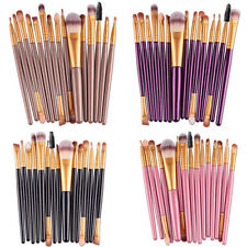 15 pcs. cosmetic makeup brush set kit tool foundation eyeliner eyebrow lip
