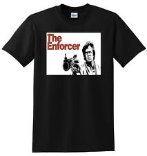*NEW* THE ENFORCER T SHIRT clint eastwood SMALL MEDIUM LARGE OR XL ADULT SIZES
