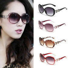 Retro Fashion Vintage Women Shades Oversized Eyewear Classic Designer Sunglasses