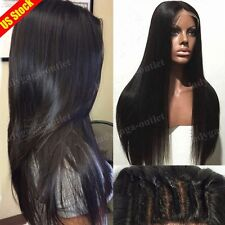 100% 7A Human Hair Silk Top Full Lace Wig Glueless Lace Front Wig Pre Plucked tw