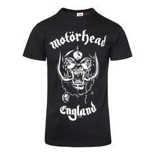 Official T Shirt MOTORHEAD Black ENGLAND Print Tee All Sizes