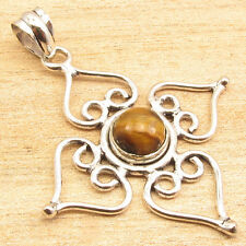 925 Sterling Silver Plated Pendant ! Original Gemstone Choices Anniversary Gift