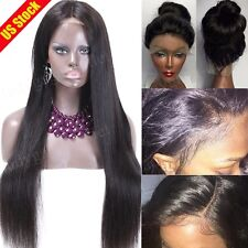Silk Top Full Lace Wig 7A Brazilian Glueless Swiss Lace Front Human Hair Wigs xf