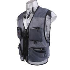 Fishing Vest Mesh Waistcoat Travelling Vest Quick-Dry Lightweight Jackets