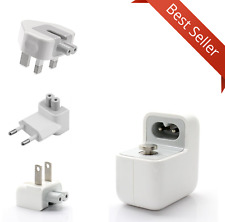 USB Adapter Travel Wall AC Charger UK/EU/US Plug 12w For iPhone Samsung Tablets