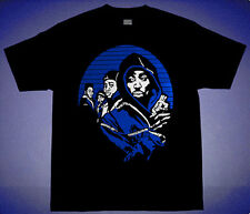 New2 xi Blk Blue Juice movie shirt match air jordan 11  space jam cajmear M L XL