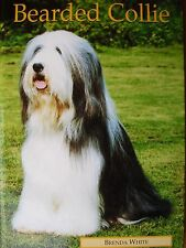 NEW hardback DOG BOOK PUPPY collies pet owners complete care BEARDED COLLIE