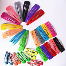 10 Pcs/lot Solid Candy Color  Girls Hair Clips Accessories For Baby Girl