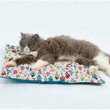 Washable Pet Bed Comfortable Fish Print Cat Dog Cushion Pillow Soft Bed
