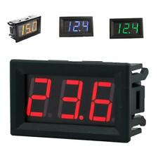 "2 Wire 0.36"" Digital LED Car Voltmeter Volt Panel Meter Gauge DC 2.5-30V 4 Color"