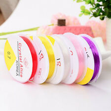 10m 0.7mm Stretchy Elastic String Jewelry Rope Making Beading Thread Crystal
