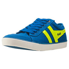 Gola Comet Neon Mens Trainers Blue Green New Shoes