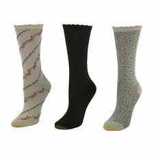 New Gold Toe Women's Extended Size Fashion Socks (3 Pair Pack)