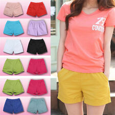 Women Candy Color Shorts Summer Ladies Casual Shorts Plus Cotton Shorts Stylish