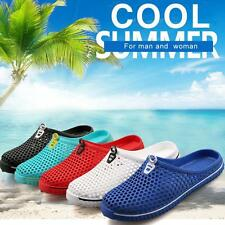 Summer Sandals Hollow Out breathable beach slippers Casual flat-bottomed Shoes Y