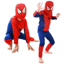 Halloween Spiderman Costume Party Cosplay Fancy Suit Boy Kid Toddler Clothing SM