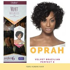 OUTRE VELVET BRAZILIAN 100% REMI HUMAN HAIR PERFECT 6 OPRAH 6PCS. Curly Weave