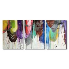 Frame Oil Canvas Painting Hand Painted Abstract Color Modern Wall Art Home Decor