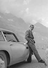 Sean Connery James Bond 007 Aston Martin Large Poster Print A0 A1 A2 A3 A4