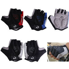 Cycling gloves bicycle motorcycle sport gel half finger size S-XL ship fast US