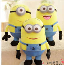 2017 Despicable Me Stuffed Cuddly Teddy Doll 3D 12'' Plush Minion Soft Toy
