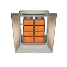 High Intensity Natural Gas Infrared Heater Direct Spark Ignition 24 Volt Control