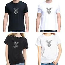Men Women Chinese Yuan Sign O-Neck Short Sleeve Summer Top Tee T-Shirt Dulcet