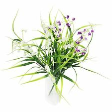 Plastic Lily of the Valley Foliage Bunches - Artificial Flowers Fake Leaves