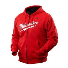Milwaukee M12 RED CORDLESS HEATED RED HOODIE JACKET SKIN