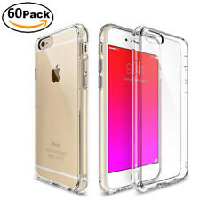 """Wholesale For iPhone 6/6s Plus 5.5"""" Soft TPU Clear Case Bumper Shockproof Cover"""