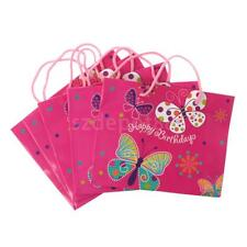 5pcs Happy Birthday Paper Gift Bags Party Loot Bags for Party Baby Shower