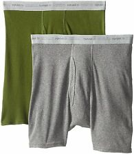 Hanes Red Label Underwear - Bottoms Mens 2-Pack Exposed Waistband Boxer