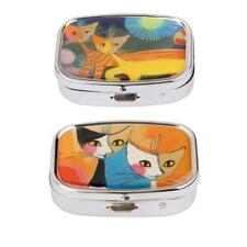 Mini Travel Tablet Pill Case Medicine Storage Box Container Case, Assoted Types