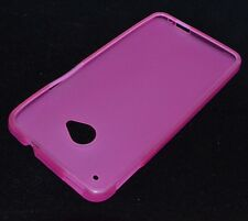 Matting TPU Case For HTC One M7 Gel Cover Multi Color
