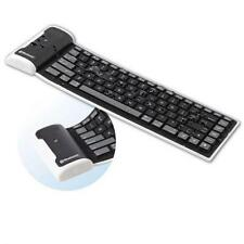 For T-MOBILE PHONES - SLIM MINI FLEXIBLE ROLL-UP WIRELESS BLUETOOTH KEYBOARD