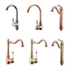 TAPCET 6 Styles Faucet Mixer Tap Brass Single Handle Kitchen Bathroom Basin Sink