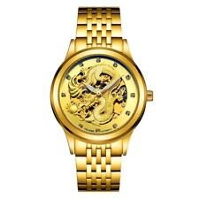 Men's Automatic Mechanical Watch Fashion Analog Watch Stainless Steel Strap
