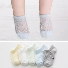 5 Pairs Baby Toddler Kids Socks Non Anti Slip Cotton Sock for Girls Boys