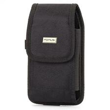 For T-MOBILE PHONES - RUGGED CANVAS CASE HOLSTER SWIVEL BELT CLIP POUCH COVER