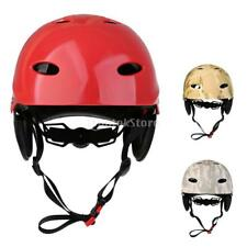 Adjustable Water Sports Safety Helmet Kayak Canoe Boat Surf Protection Hard Cap