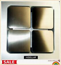 DUCTABLE VENTILATION FAN BATHROOM CEILING WHISPER STAINLESS EXHAUST FAN 140m3/Hr