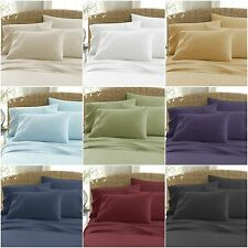 6 PC Comforter Bedding Sheet Set King Size 1 Flat 1 Fitted Sheet 4 Pillowcases