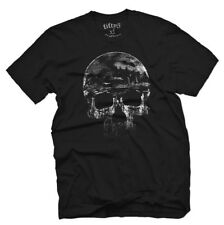 Fifty5 Distressed Skull Men's T Shirt