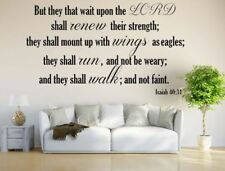 They That Wait Upon The LORD Wall Decal Sticker