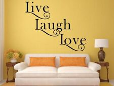 Live Laugh Love Decal Inspirational Love Quote Family Decal Love Wall Art Laugh